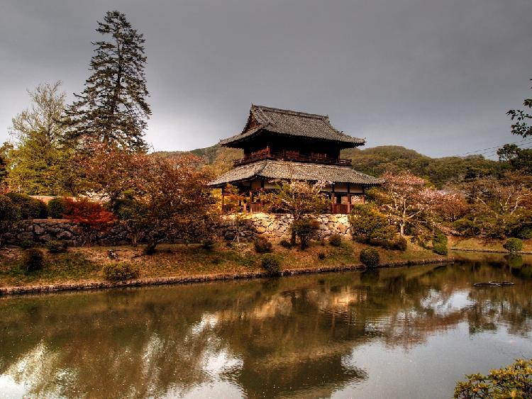 27 岩国城のお堀内.JPG
