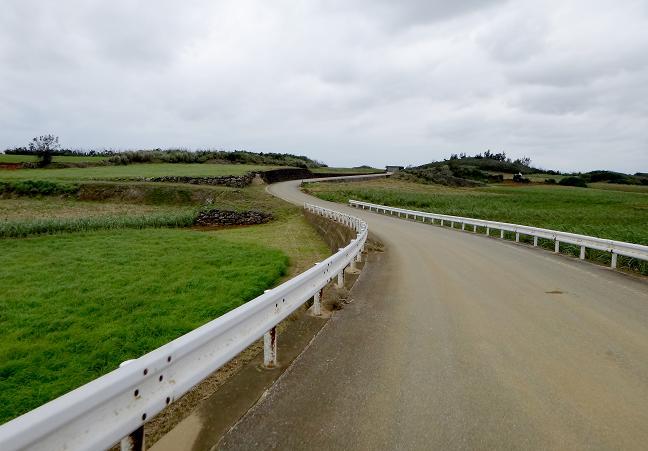 27 幹線道路は飽きたので農道で.JPG