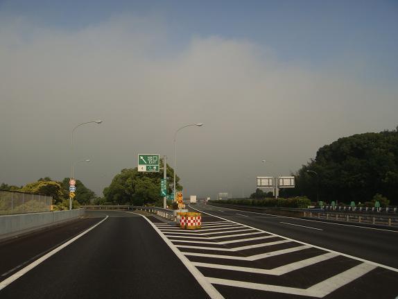 49 朝霧に包まれた我が家へ.JPG
