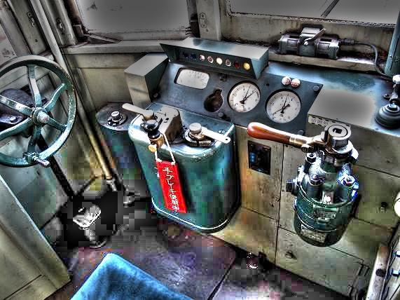 エンジンが掛かっているのでレバーを動かせばA.JPG