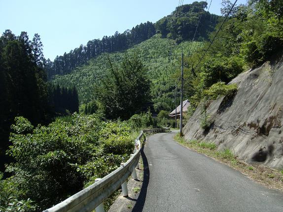 マイナーな峠で小石原へ.JPG