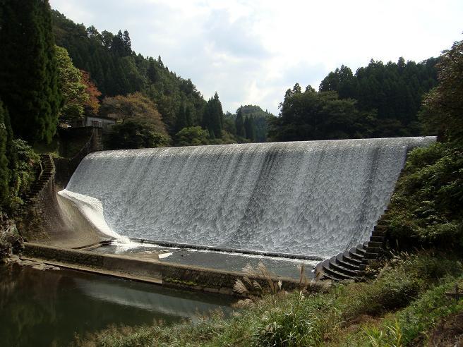 今年初の白水ダム.JPG