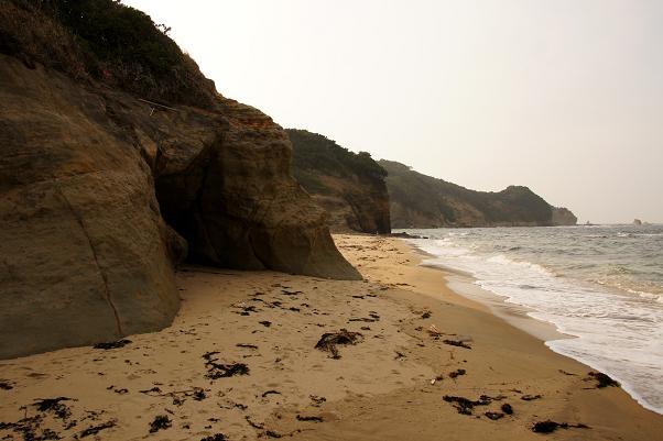 侵食海岸です.JPG