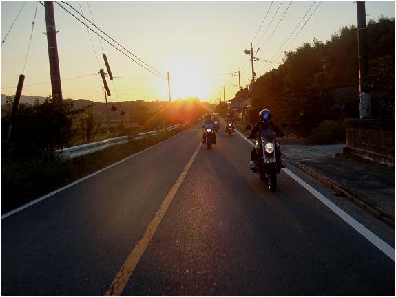 日が沈む~.JPG