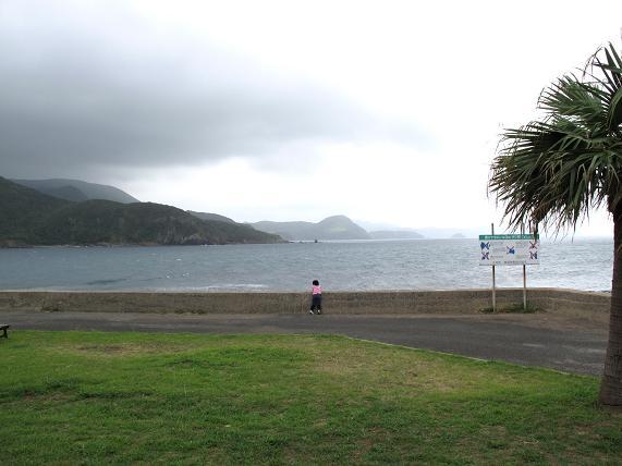 海を見つめる女.JPG