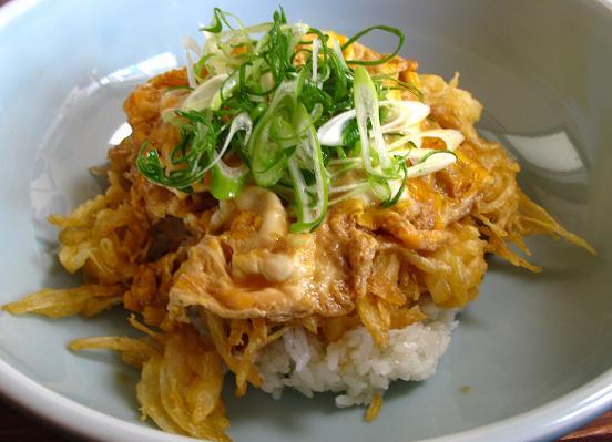 甘いタマネギが美味しい掻き揚げ丼.JPG
