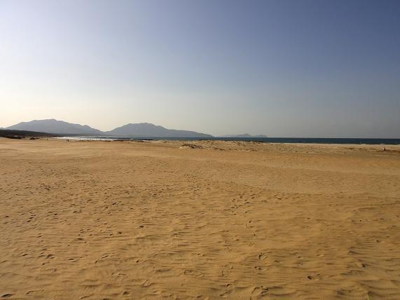 芦屋と築城の違いは砂浜から見えること.JPG