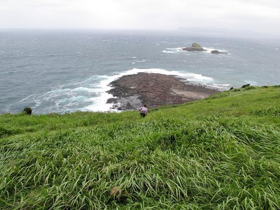 草原をかけるオッサン.JPG
