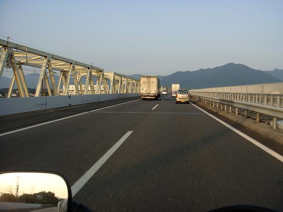 遠賀川を渡って帰って来ました。.JPG