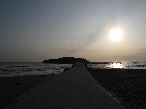 青島は朝は青くない.JPG