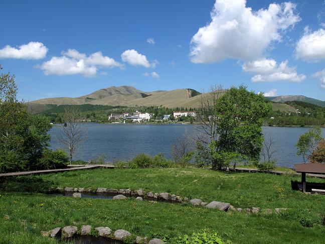 13 白樺湖です.JPG