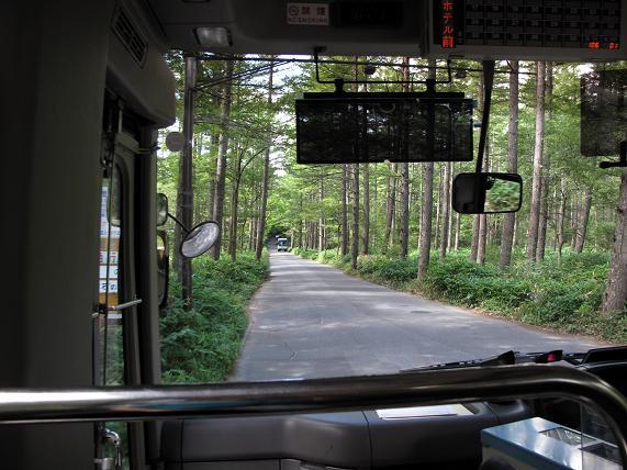 19 バスの路線間は普通の風景.JPG