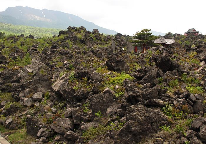 23 浅間山の溶岩.JPG