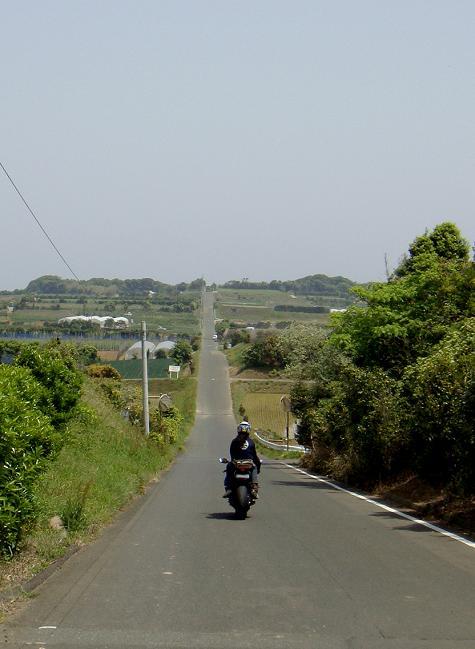 34 来たかった加部島の直線.JPG