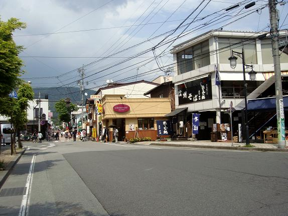 35 軽井沢は由布院みたいな感じです.JPG