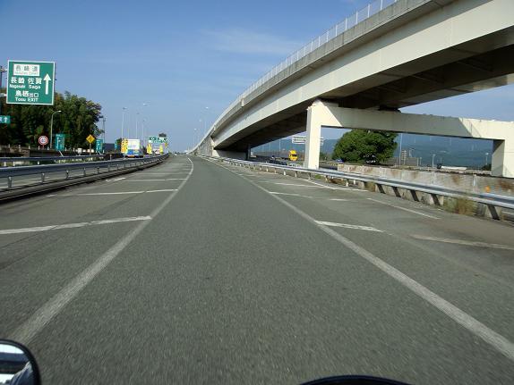 5 大分長崎道で西へ走ってます.JPG