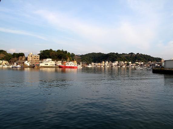 相浦港が見えてきた.JPG